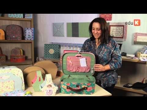 Curso online de Forração de maletas 2 - Montando sua fábrica de maletas e caixas | eduK.com.br - YouTube