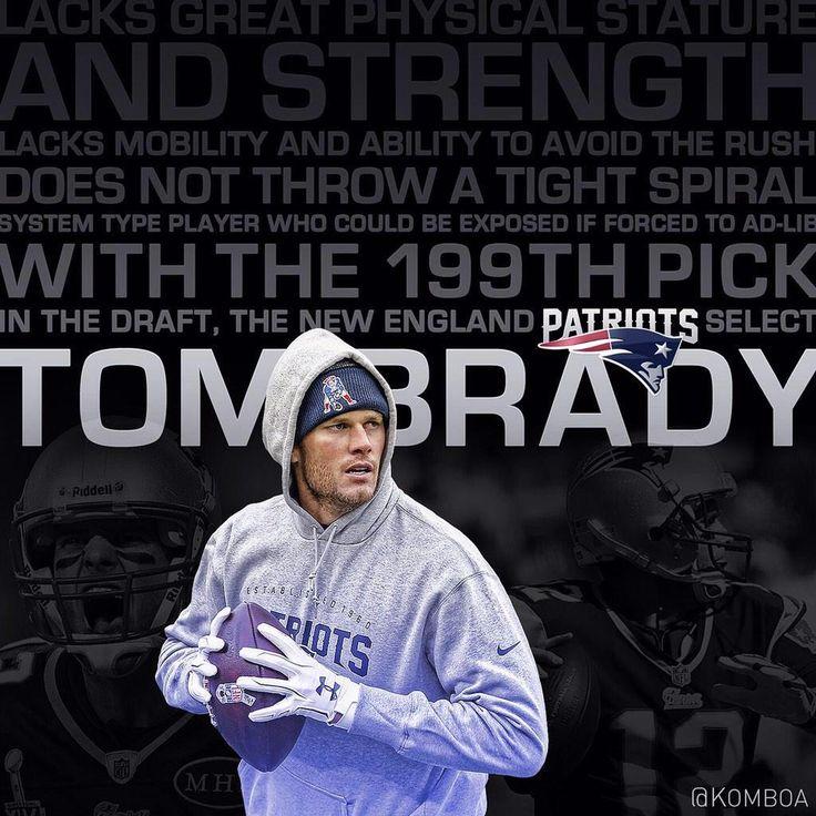 199th = Tom Brady = GOAT