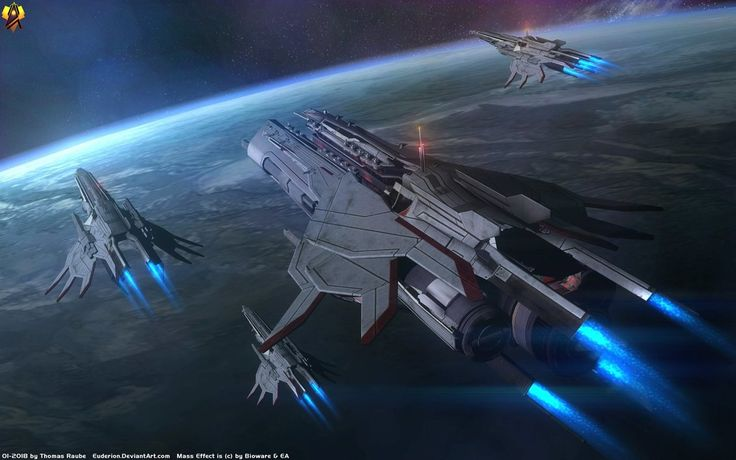 Turian Dreadnought Parade by Euderion