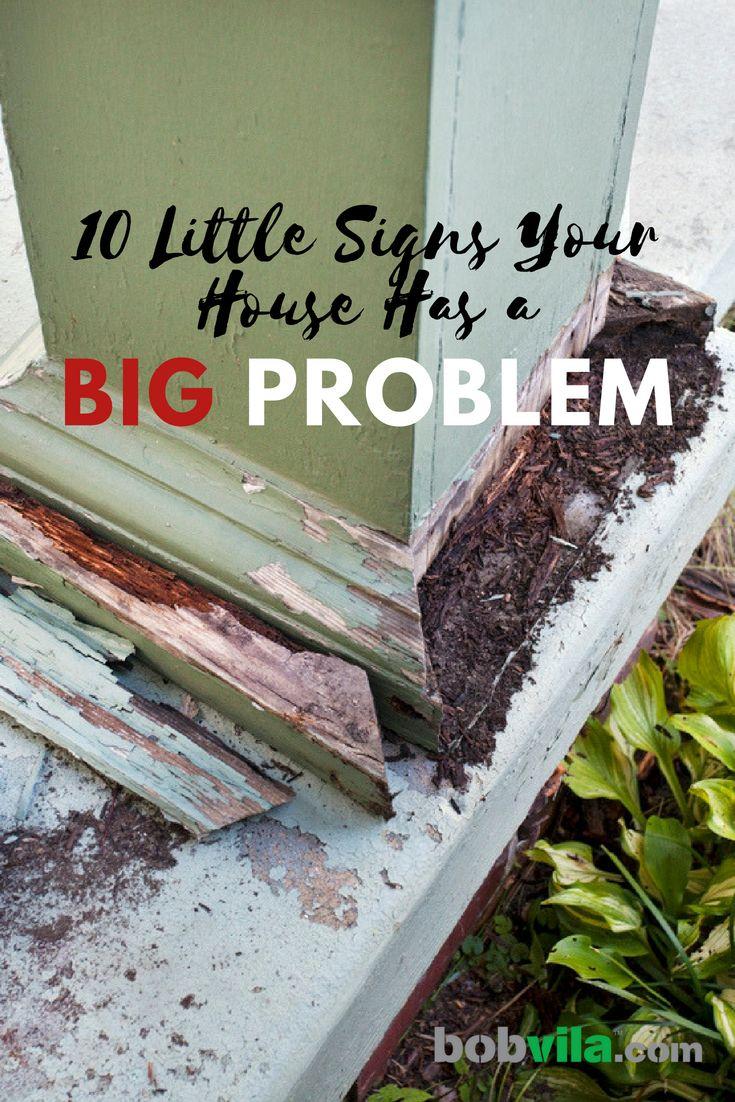 15 Little Signs Your House Has A Big Problem Big Home Fix Bob Vila
