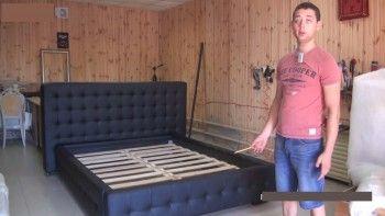 Мягкая каркасная кровать своими руками (2016) Видеокурс