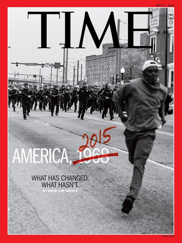 Time Magazine - Photograph by Devin Allen -  black live matters (still)