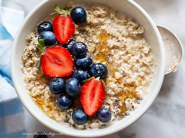 Porridge Ricette