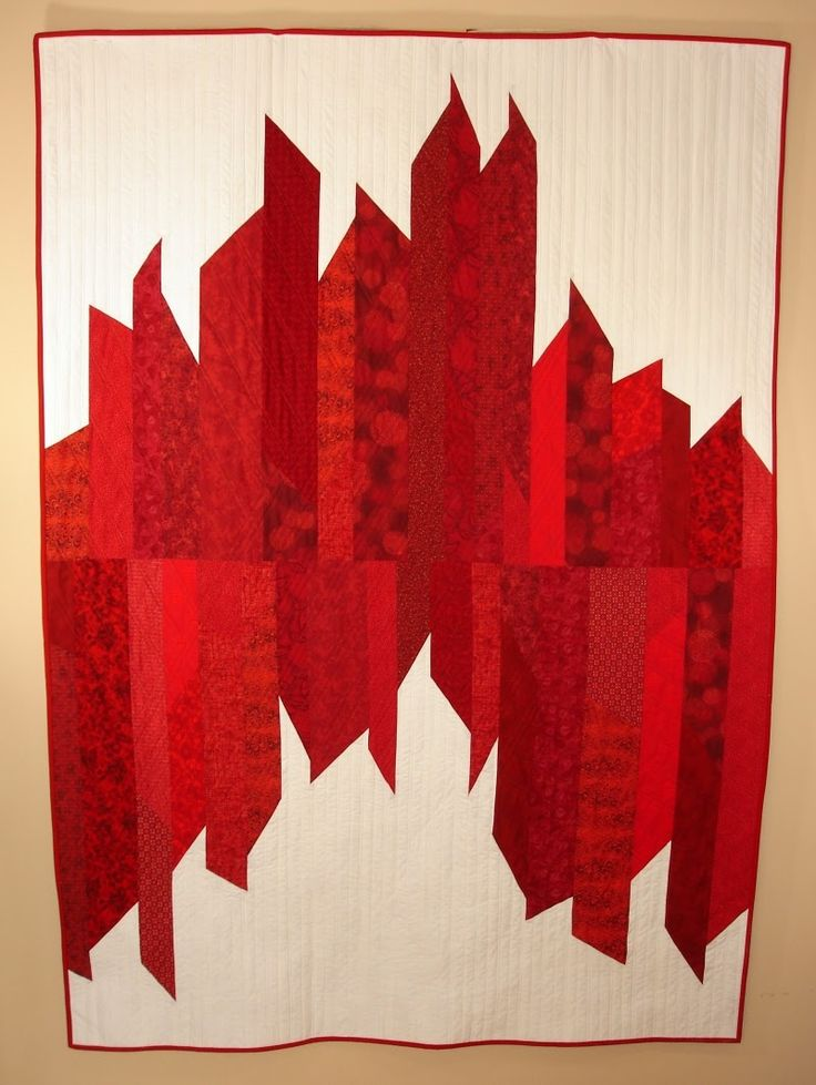 Today's spotlight is on Judy Messenger of FabriArts and the quiltshe made will be donated to Quilts of Valor, Canada www.quiltsofvalour....