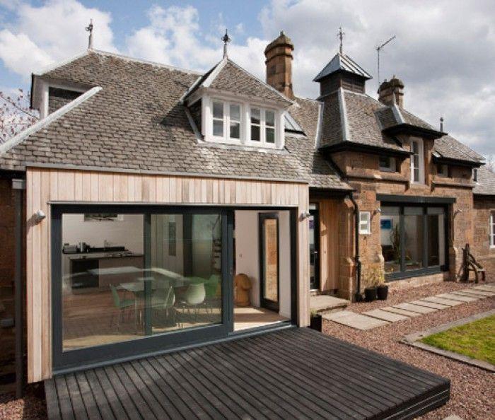 Boerderij met moderne aanbouw google zoeken aanbouw stolp pinterest verandas met and - Lay outs oud huis ...
