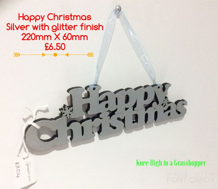 Christmas is on its way .... What about a hanging decoration? Available with sticky pads as well. Let me know if you would like to order one. 🎄
