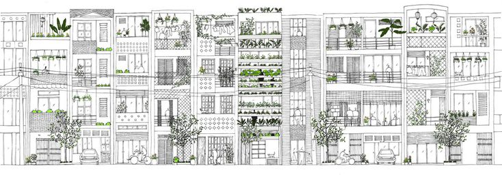 stacking green by vo trong nghia architects in ho chi minh city (saigon), vietnam