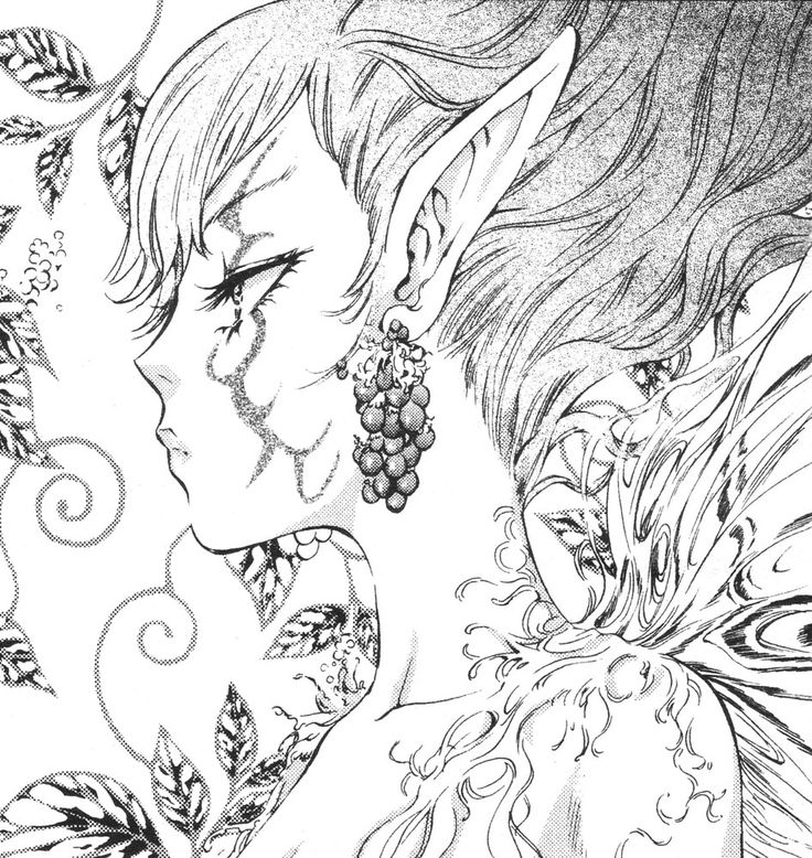 advanced coloring pages for adults anime fairies colouring pages