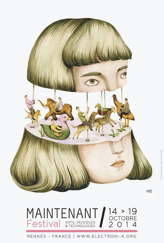 Maison Motion   [Maison Motion 設計] 2014 法國年度最佳音樂祭海報20張
