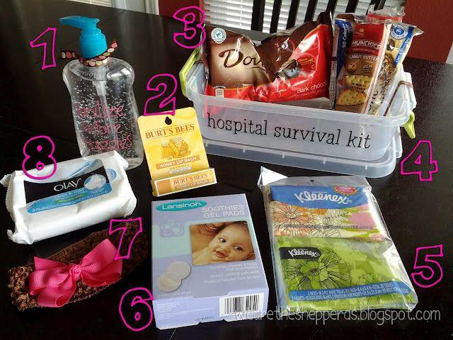 hospital survival kit for pregnancy