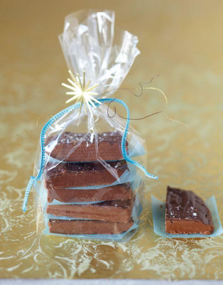 Whisky-schokoladen fudge