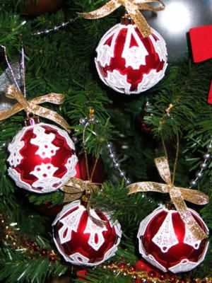 131 best Machine Embroidery - Christmas Ornaments and Decorations ...