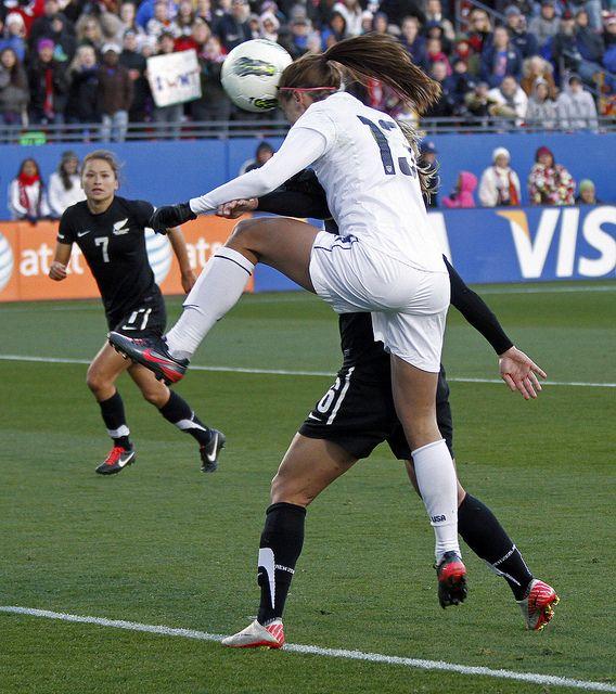 Alex Morgan, U.S. Women's National Team, vs. New Zealand, FC Dallas Stadium, Feb. 11, 2012. (Pablo Sema/Big D Soccer)