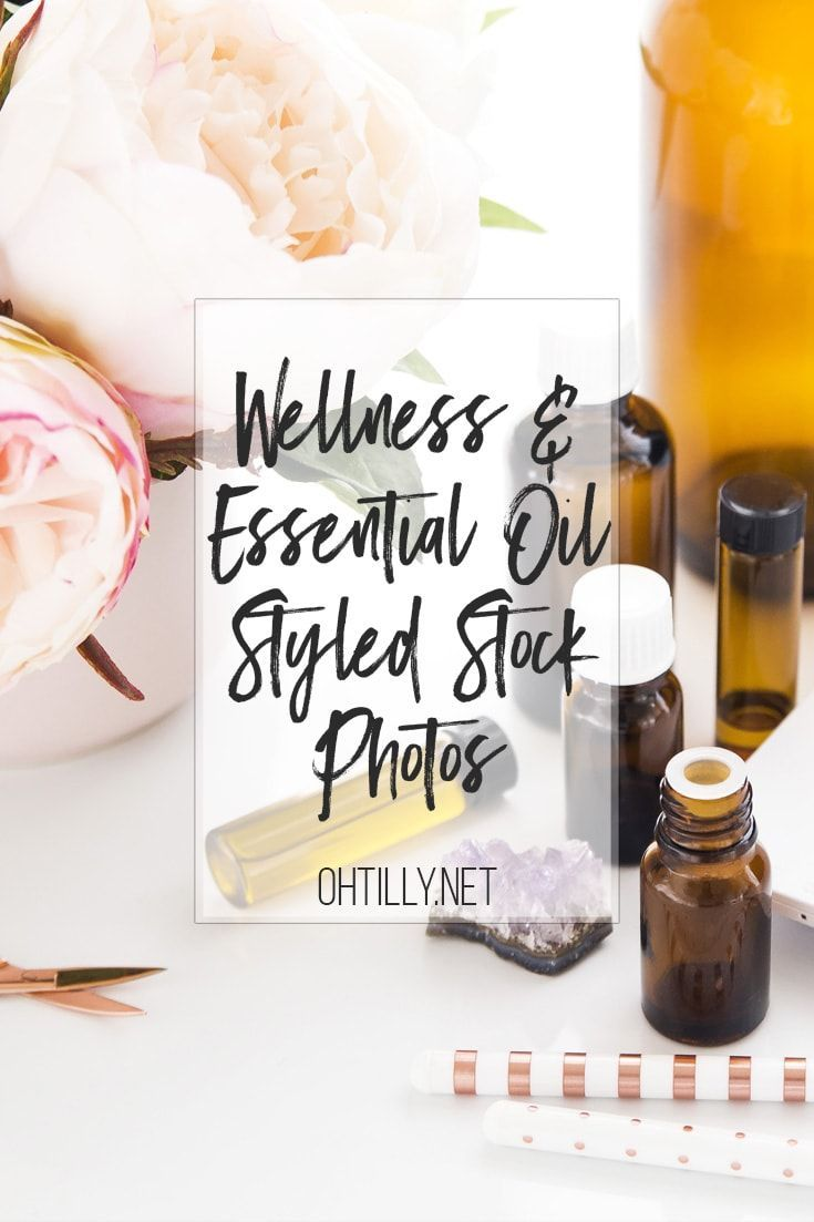 Wellness & Essential Oils Stock Photos | Oh Tilly Styled Stock Photography