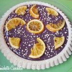 Crostata morbida all'arancia e crema al cioccolato