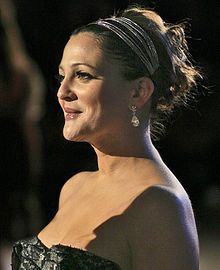 Drew Blyth Barrymore (born February 22, 1975) is an American actress, screenwriter, film director, producer, model and author who is a descendant of the Barrymore family of well-known American stage and cinema actors, and is, in fact, the granddaughter of film legend John Barrymore. DrewBarrymoreMusicLyrics.jpg