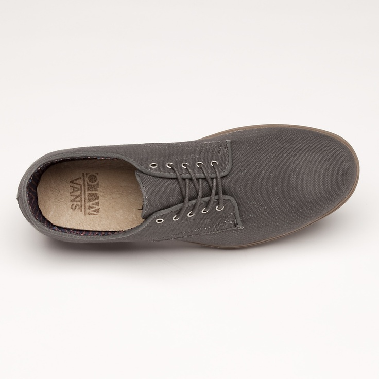 Vans - Waxed Canvas Pritchard, $75