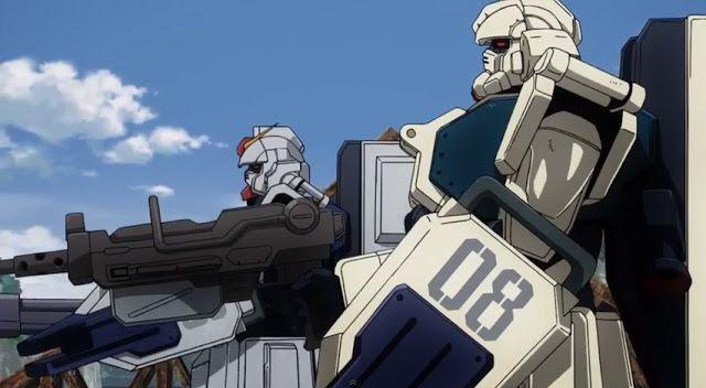 Gundam 08th Ms Team Episode 1 Americans Gundam Ms Teams Gundam Teams