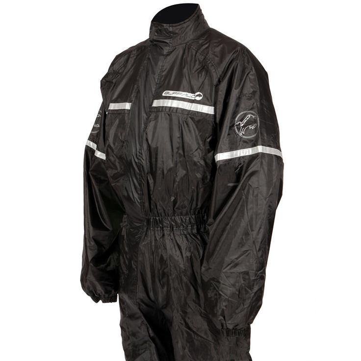 Buffalo 1-Piece Motorcycle Rain Suit  Description: The Buffalo 1 Piece Motorbike Rain Suits are packed       with features..              Specifications include                      One piece waterproof.                    Lightweight.                    Mesh lined upper.                    Diagonal zip.                    Wide leg...  http://bikesdirect.org.uk/buffalo-1-piece-motorcycle-rain-suit-3/
