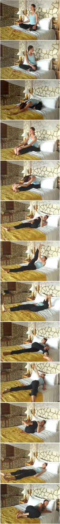 Bedtime Yoga Sequence.