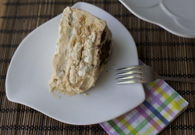 Torta de merengue lucuma / Lucuma meringue cake