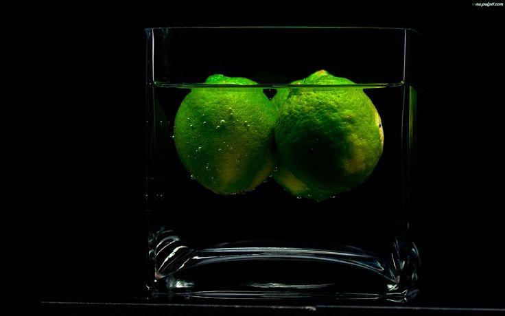 Wody, Limonki, Dwie, Szklanka