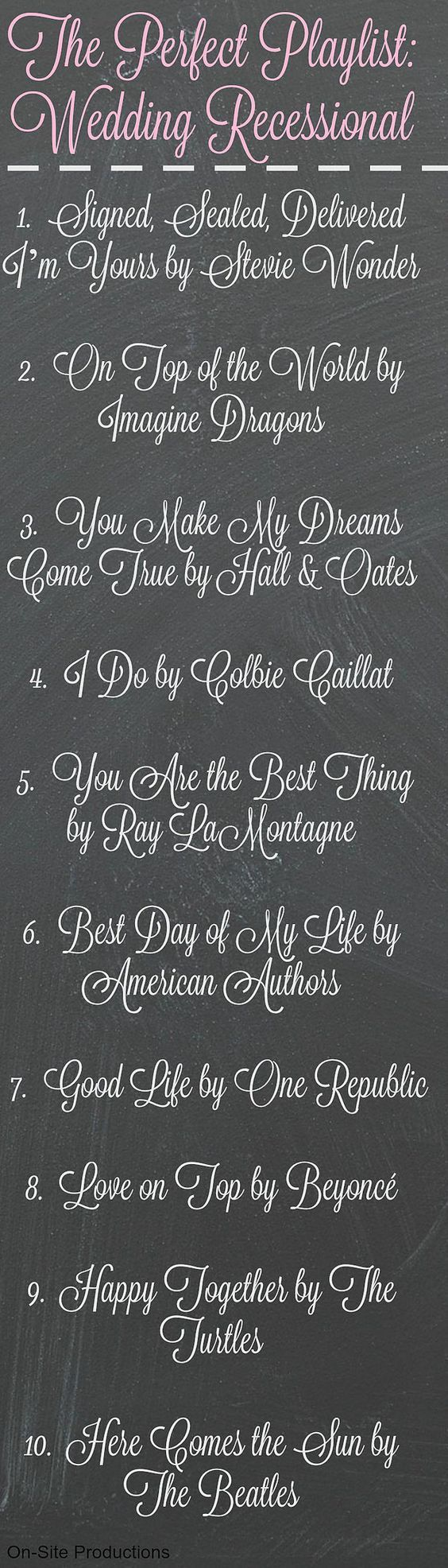 Best 20 Wedding Recessional Ideas On Pinterest