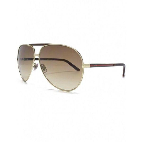 36ef0d2fcb3 Gucci Women s Gucci 2887 s Aviator Sunglasses