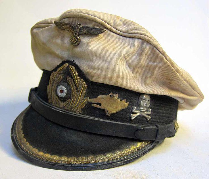 Reproduction German U Boat Submarine Captains Peaked Cap