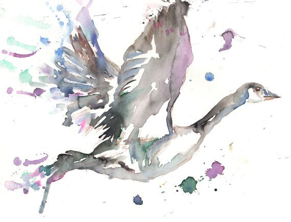 Original Watercolor Painting Titled Something by ArtbyJessBuhman, $40.00