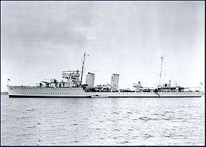 HMCS Saguenay (D79) - Wikipedia