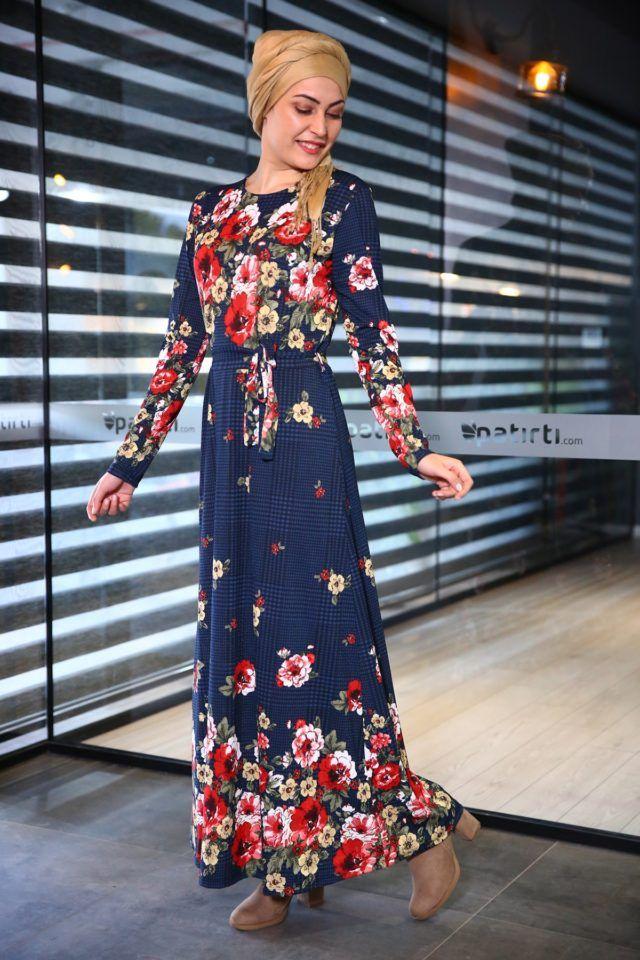 En Guzel Patirti Tesettur Elbise Modelleri Elbise Modelleri Maksi Elbiseler Elbise
