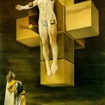 Crucifixion (Corpus Hypercubus), by Dali