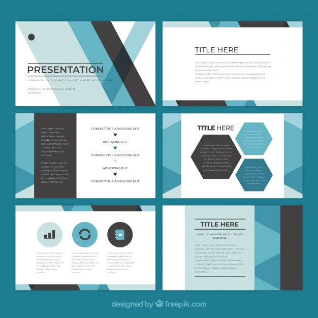 Download Business Presentation Template In Flat Style For Free Business Presentation Templates Powerpoint Presentation Design Business Presentation