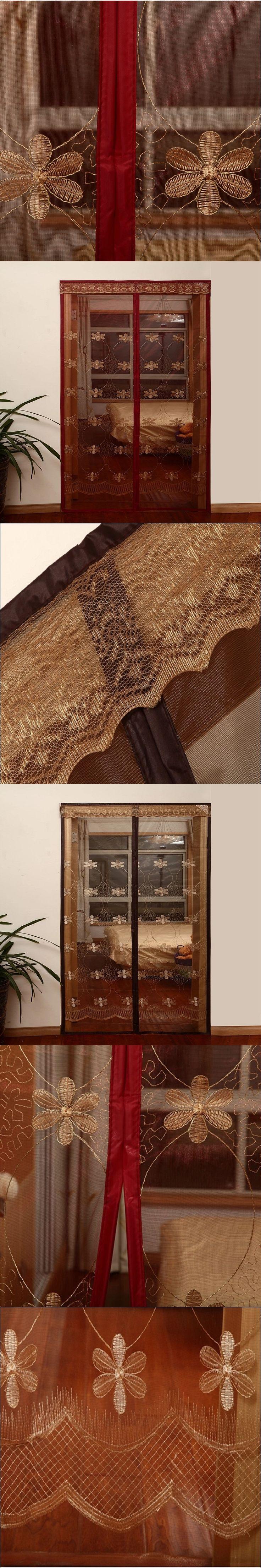 Summer Mosquitoe Soft Screen Door Magnetic Insect Door Curtain Divider Net Fly Screen Bug Anti Mosquito Mesh Portiere On Door