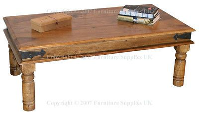 110cm jali #coffee #table solid #asian sheesham wood furniture - flat pack 60 dep,  View more on the LINK: http://www.zeppy.io/product/gb/2/291431608787/