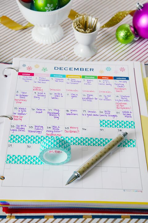 Holiday Organizing Binder- maybe not to make this year but definitely in the future!