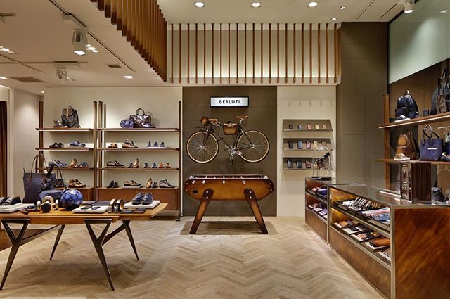 WEBSTA @ berluti - We are excited to reveal our exclusive Pop-Up Store at @isetanmens Shinjuku Men's Department in Tokyo! ✨ Introducing a set of pieces created exclusively for Isetan!  #Berluti #伊勢丹