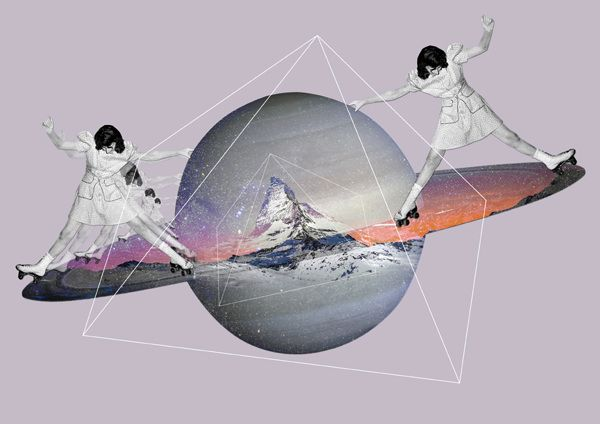 Ceren Kilic MORE collage, graphic and mixed media art HERE http://graphicmixedmedia.altervista.org/