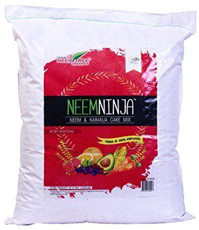Neemtree Organics Neem Ninja - Neem and Karanja Seed Meal - Natural, Vegan Soil Amendment (44 Lb.)