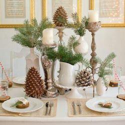 Friday Pinterest Finds: Holiday Tablescapes