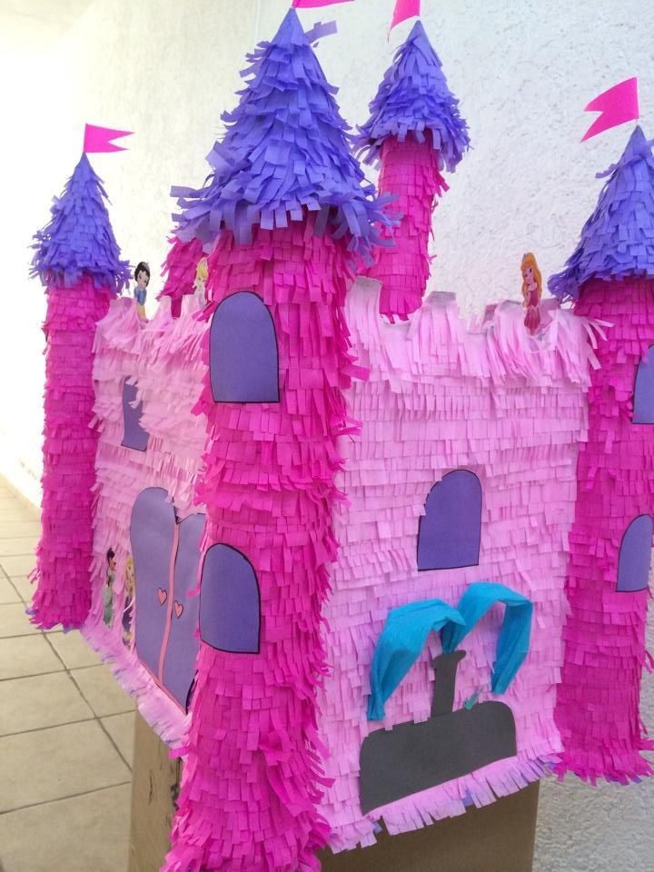 Piñata Castillo Princess Toddlers