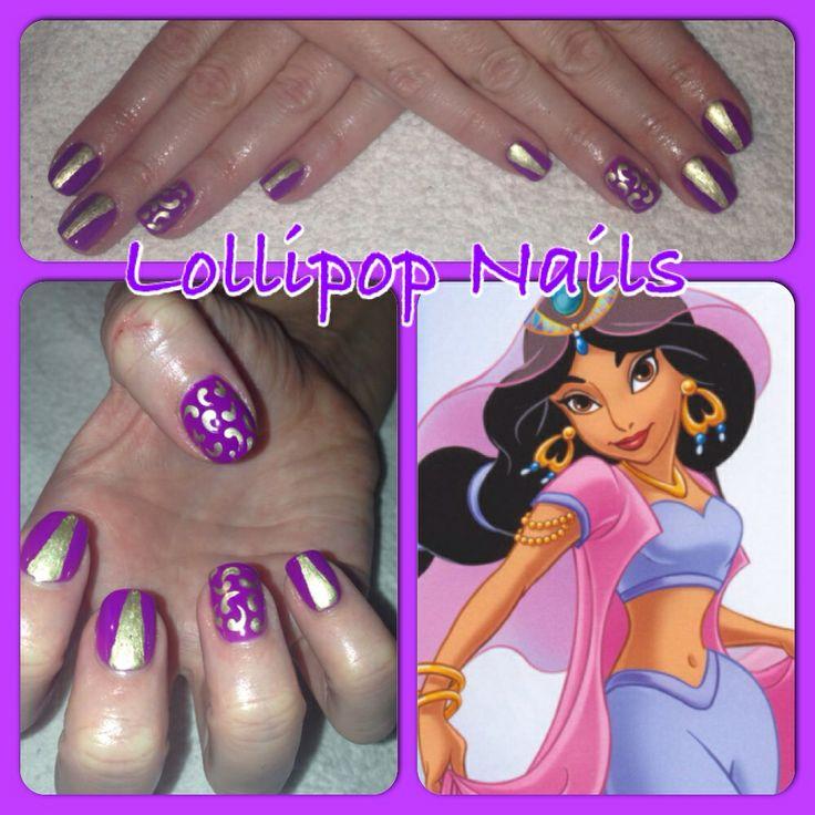 Princess Jasmine Nails: 17 Best Images About Lollipop Nails & Beauty On Pinterest