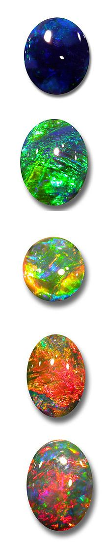 Opals_October birthstone. May perhaps be the only stone that offers so many options for the birthstone. Love.