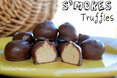 mores Truffles! | Recipes to try | Pinterest