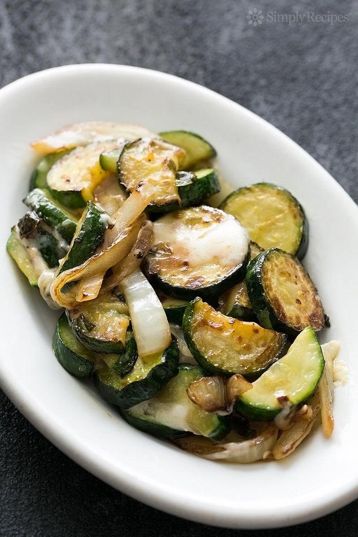 saut ed zucchini with gruyere simple sauteed zucchini