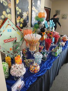 Jackie Sorkin's Fabulously Fun Candy Girls, Candy World, Candy Buffets & Event Industry Bl: Dalton's Board Games Themed Barmitzvah & Monopol...