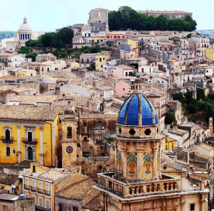 Ragusa Ibla, Sicily (one location from 'Commissario Montalbano') #ragusa #sicilia #sicily