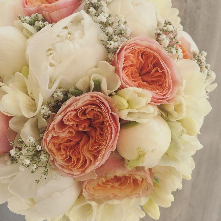 Wedding bouquet fleurs trikala