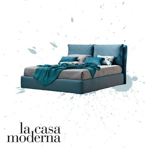 Blu, grigio o rosso. Bastano poche sfumature per ottenere risultati davvero speciali! Quale colore fa per voi? #LaCasaModerna #Beds #SweetDreams ● lacasamoderna.com